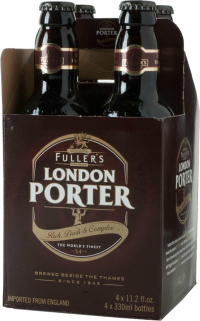 FULLERS LONDON PORTER 375ML 4PK NR Beer