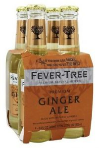 Fever Tree Ginger Ale 6oz 4pk btls