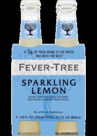 Fever Tree Sparkling Lemonade 200ml 4pk Bt