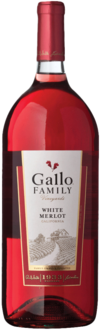 GALLO FAMILY WHITE MERLOT 1.5L Wine ROSE BLUSH WINE