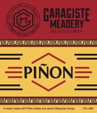Garagiste Meadery Pinon 12.7oz Sng nr
