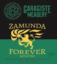 Garagiste Meadery Zamunda Forever 12.7oz Sng nr