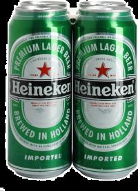 HEINEKEN 16OZ 4PK CN-16OZ-Beer