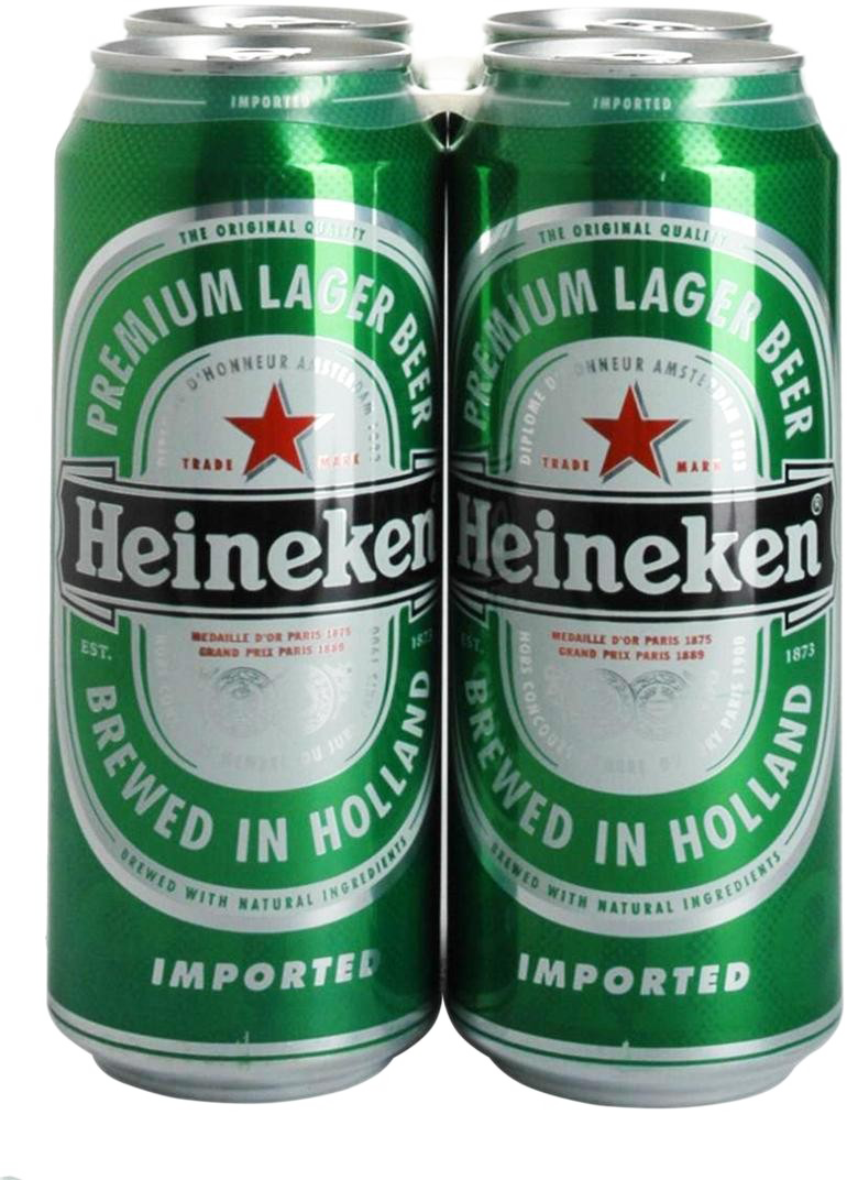 Heineken 16oz 4pk cn