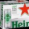 HEINEKEN LIGHT 12PK CN-12OZ-Beer