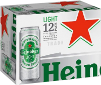 HEINEKEN LIGHT 12PK CN-12OZ-Beer