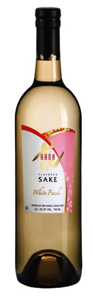 Hana White Peach Sake 375ml