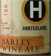Hinterland BA Barley Wine