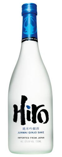 Hiro Blue 720ml bottle