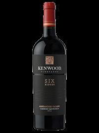 Kenwood Vineyards California Wine Six Ridges Alexander Valley Cabernet Sauvignon 2013 750ml