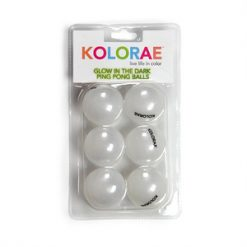 Kolorae Color Ping Pong Balls 6pk