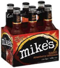 MIKES HARD STRAW LEMONADE 6PK NR-Beer