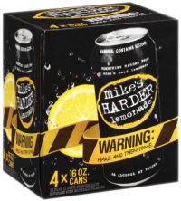 MIKES HARDER LEMONADE 16OZ 4PK CN-16OZ-Beer
