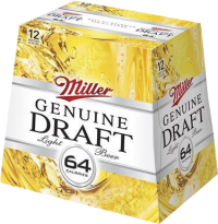 MILLER GEN DRAFT 12OZ 12PK NR-12OZ-Beer
