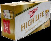 MILLER HIGH LIFE 12OZ 18PK CN-12OZ-Beer