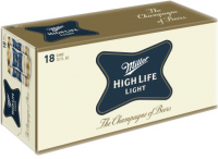 MILLER HIGH LIFE LITE 18PK CN-12OZ-Beer