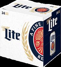 MILLER LITE 12OZ 24PK CN-12OZ-Beer