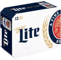 MILLER LITE 12oz 12PK-CN-12OZ-Beer