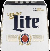 MILLER LITE 12oz 12PK-NR-12OZ-Beer