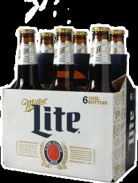 MILLER LITE 12oz 6PK-NR-12OZ-Beer