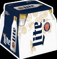 MILLER LITE 16OZ ALUM 9PK-16OZ-Beer