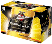 MILLER MGD 12OZ 18PK NR-12OZ-Beer