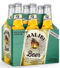 Malibu Coconut Beer 12oz 6pk bt