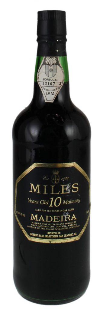 Miles Madeira Malmsey 10Yr