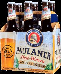 PAULANER HEFE WEIZEN 375ML 12oz 6P NR Beer