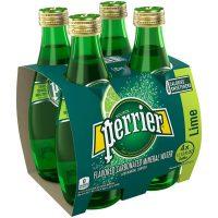 Perrier Lime 4pk bt