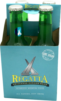 REGATTA GINGER BEER 4P Non-Alcoholic COCKTAIL MIXERS