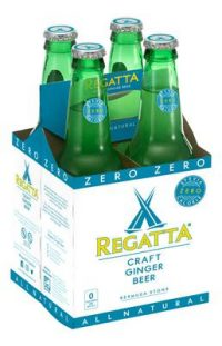 Regatta Ginger Beer Light 8.45oz 4pk