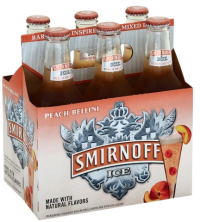 SMIRNOFF ICE PEACH BELLINI 6PK NR-Beer