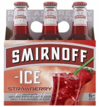 SMIRNOFF ICE STRAWBERRY 6PK NR-Beer