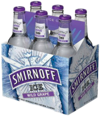 SMIRNOFF WILD GRAPE 6PK-11.2OZ-Beer