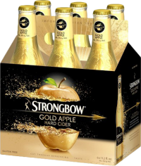 STRONGBOW GOLD APPLE CIDER 12OZ 6PK NR-12OZ-Beer