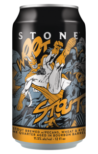 Stone Woot Stout can