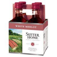 Sutter Home White Merlot 187ml 4pk
