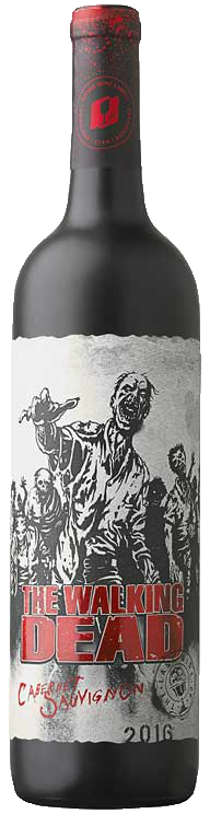 THE WALKING DEAD CAB SAUV 750ML Wine Red Wine