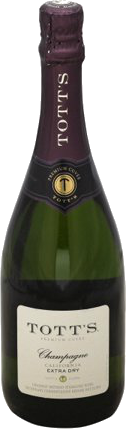 TOTTS EXTRA DRY CHAMPAGNE 750ML Wine SPARKLING WINE