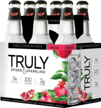 TRULY SPARKLING POMEGRANATE 6PK NR-Beer