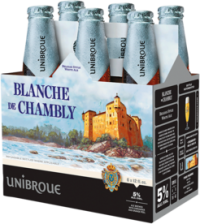 UNIBROUE BLANCHE DE CHAMBLY 6PK NR Beer