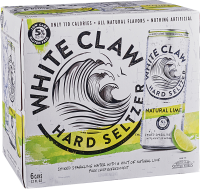 WHITE CLAW NATURAL LIME 12OZ 6PK CN-12OZ-Beer