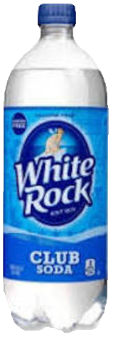 WHITE ROCK CLUB SODA 1.0L Non-Alcoholic SOFT DRINKS
