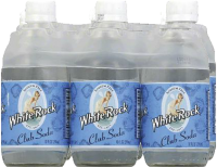WHITE ROCK CLUB SODA 375ML 10OZ 6PK Non-Alcoholic SOFT DRINKS