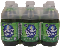 WHITE ROCK GINGERALE 375ML 10OZ 6PK Non-Alcoholic SOFT DRINKS