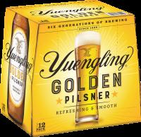 YUENGLING GOLDEN PILSNER 12OZ 12PK NR-12OZ-Beer
