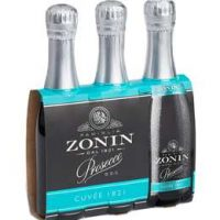 Zonin Prosecco 187ml 3pk