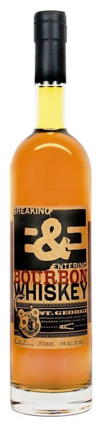 St George Breaking & Entering American Whiskey 750ml