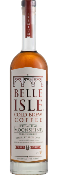Belle Isle Cold Brew Coffee Moonshine 750ml